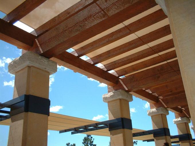 Vigas de madera mantenimiento actitudfem - Vigas madera techo ...