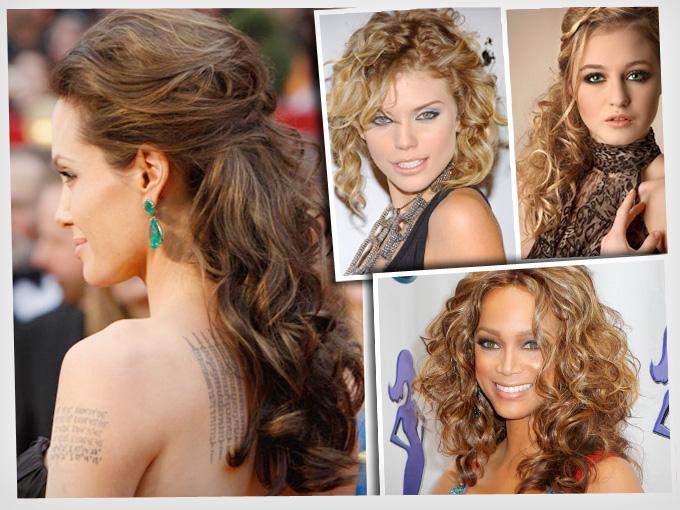 Peinados Cabello Rizado Actitudfem