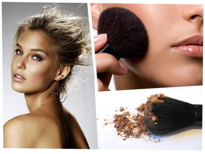 maquillaje bronzer