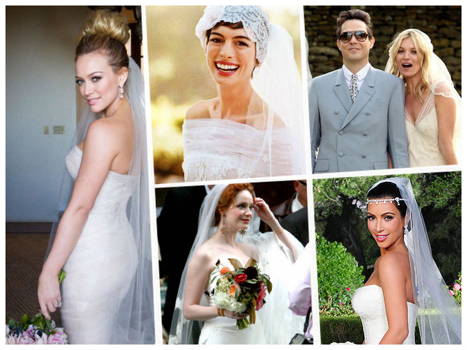 84d29523d Vestidos de novia de las famosas