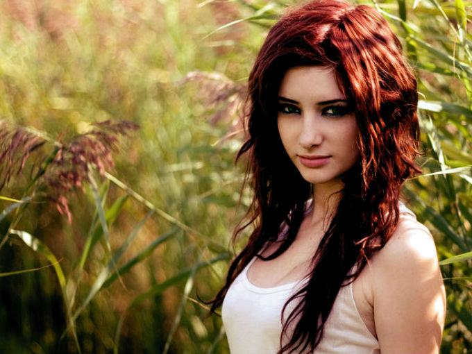 Baño De Color Rojo En Pelo Oscuro:como cuidar el cabello rojo