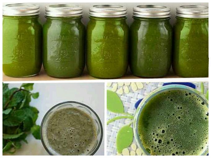 Bebida verde para bajar de peso de forma sencilla