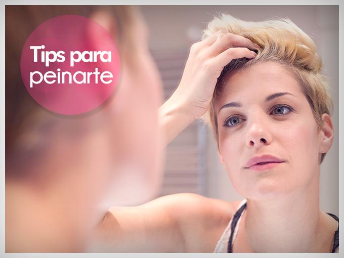Peinado para cabello corto con plancha actitudfem - Como peinar cabello corto ...