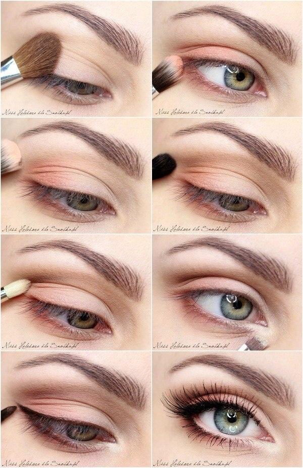 maquillaje de ojos dia paso a paso