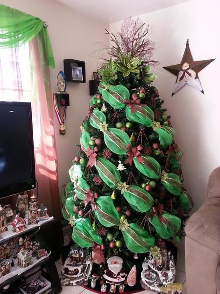 Como decorar el arbol de navidad soyactitud - Como decorar un arbol de navidad azul ...
