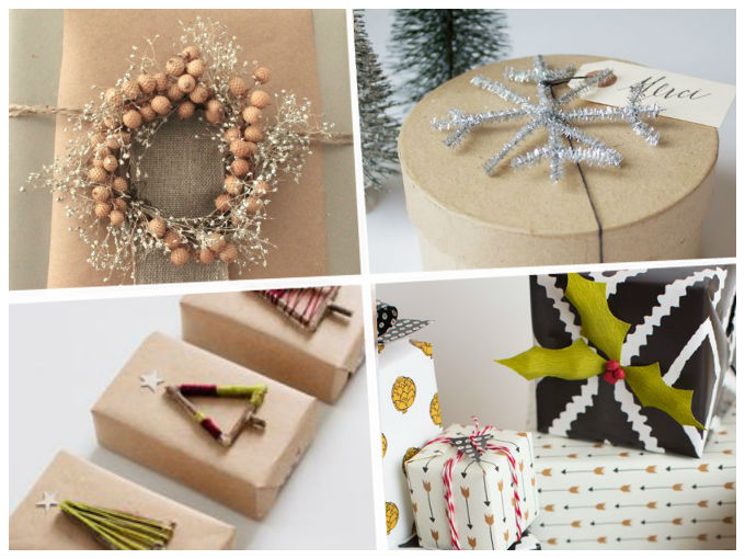 Diy adornos para regalo originales actitudfem for Adornos originales para navidad