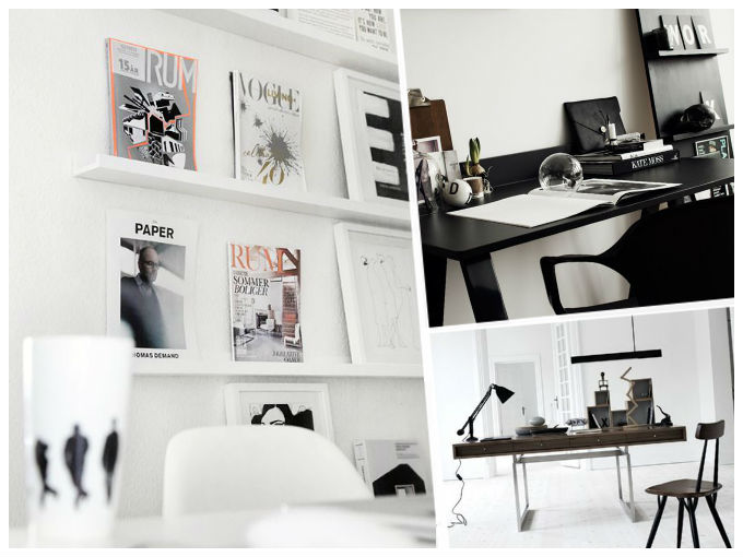 Decoracion con paredes blancas actitudfem - Decoracion paredes blancas ...