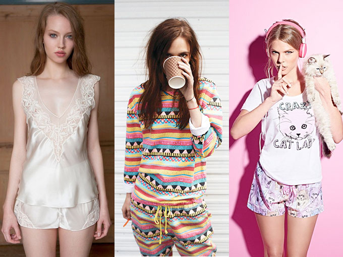 0713331a42 Pijamas para sentirte sexy y cómoda  FOTOS