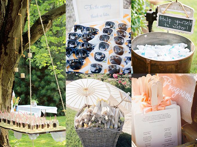 Ideas para boda al aire libre fotos actitudfem - Decoracion de bodas originales ...