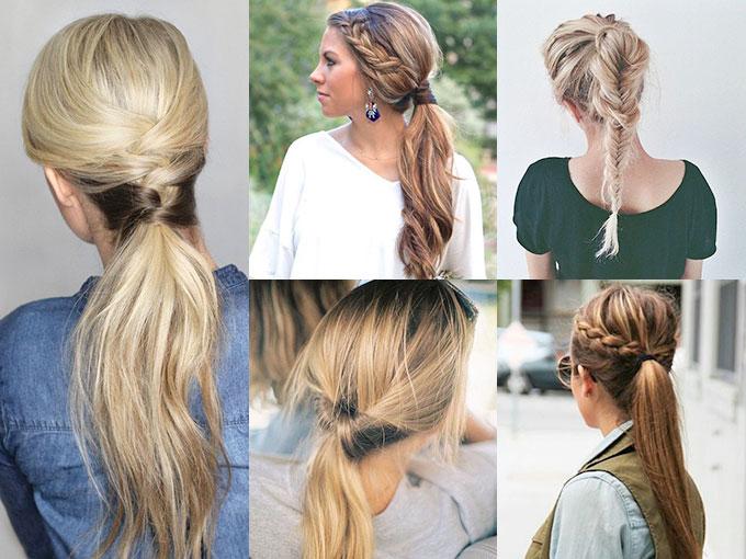 ¿Estás buscando una forma de actualizar tu peinado? Entonces no te puedes perder los siguientes estilos, que toman una típica cola de caballo y la