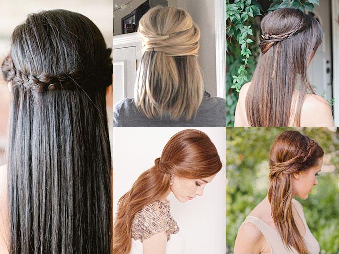 Peinados De Boda Para Cabello Lacio Actitudfem
