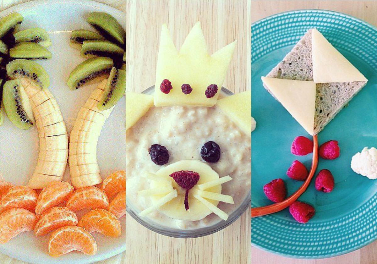 C mo hacer la comida divertida para los ni os actitudfem - Como hacer fotos a bebes en casa ...
