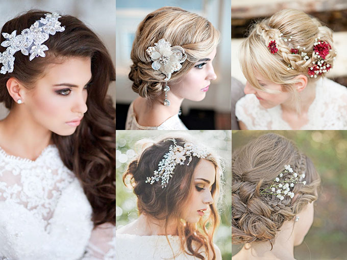 Fabuloso peinados con flores Galeria De Cortes De Cabello Estilo - Peinados de novia con flores FOTOS   ActitudFem