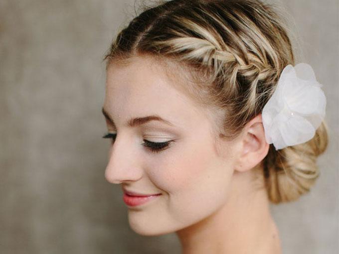 Peinados de novia recogidos fotos actitudfem - Peinados de novia recogido ...