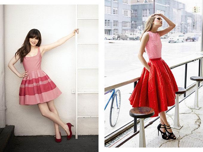 C mo usar rojo con rosa en ropa actitudfem for Combinacion de color rosa