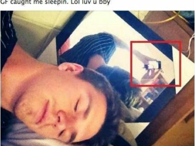 La selfie fallida de