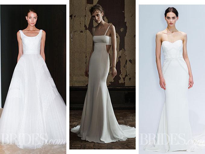 vestidos de novia minimalistas para primavera 2016 | actitudfem