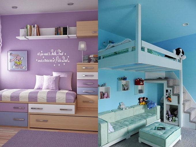 Como decorar el cuarto de mi hija actitudfem for Como organizar mi habitacion pequena