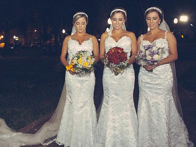 Matrimonio Simbolico En Brasil : Mujeres contraen matrimonio en brasil actitudfem