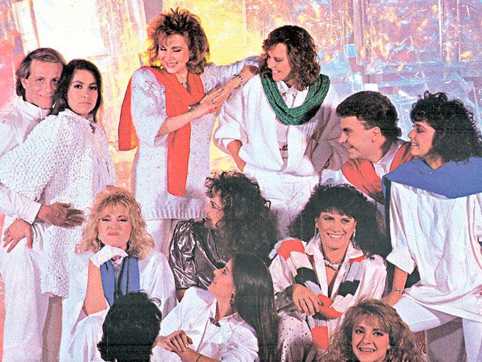 Canciones navide as de los ochenta con yuri mijares for Blanca romero grupo musical
