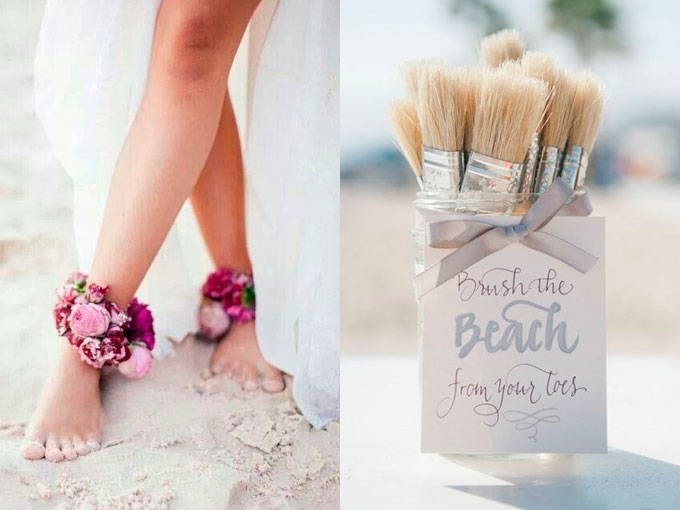 10 detalles para tu boda de playa que vas a amar actitudfem - Detalles para una boda perfecta ...