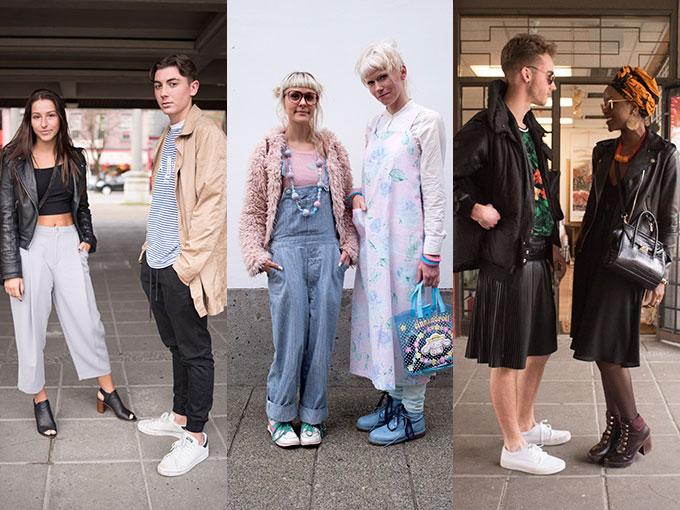 Celebridades, blogueros y fashionistas se dieron cita en el Centro Cultural de Vancouver para descubrir la propuesta FW 2016 de diseñadores nacionales y extranjeros. Pero como ya es costumbre en cualquier evento de moda, la acción no sólo está en la pasarela, sino también en sus calles, donde podemos echar un vistazo al ecléctico estilo de sus asistentes.