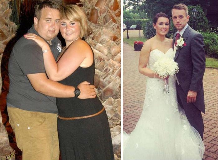 Juntos, bajaron 60 kilogramos para que el día de su boda lucieran guapísimos / Especial.