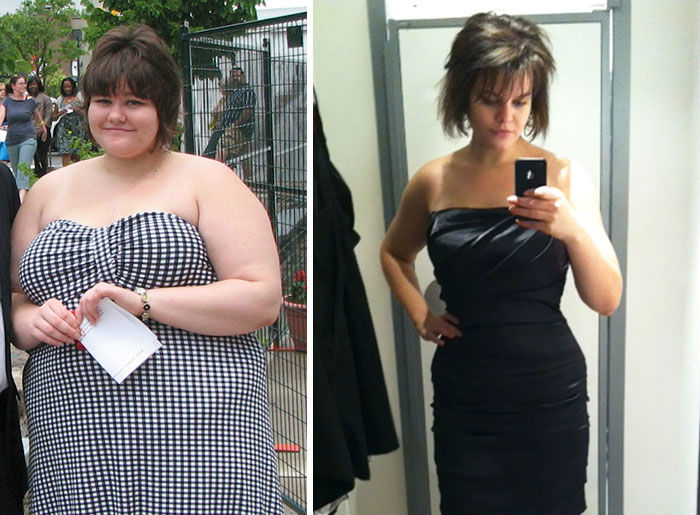 Esta mujer quedó hermosa después de perder 60 kilogramos / Especial