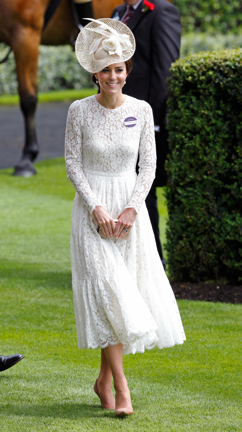 La Duquesa de Cambridge en Dolce & Gabbana, Royal Ascot