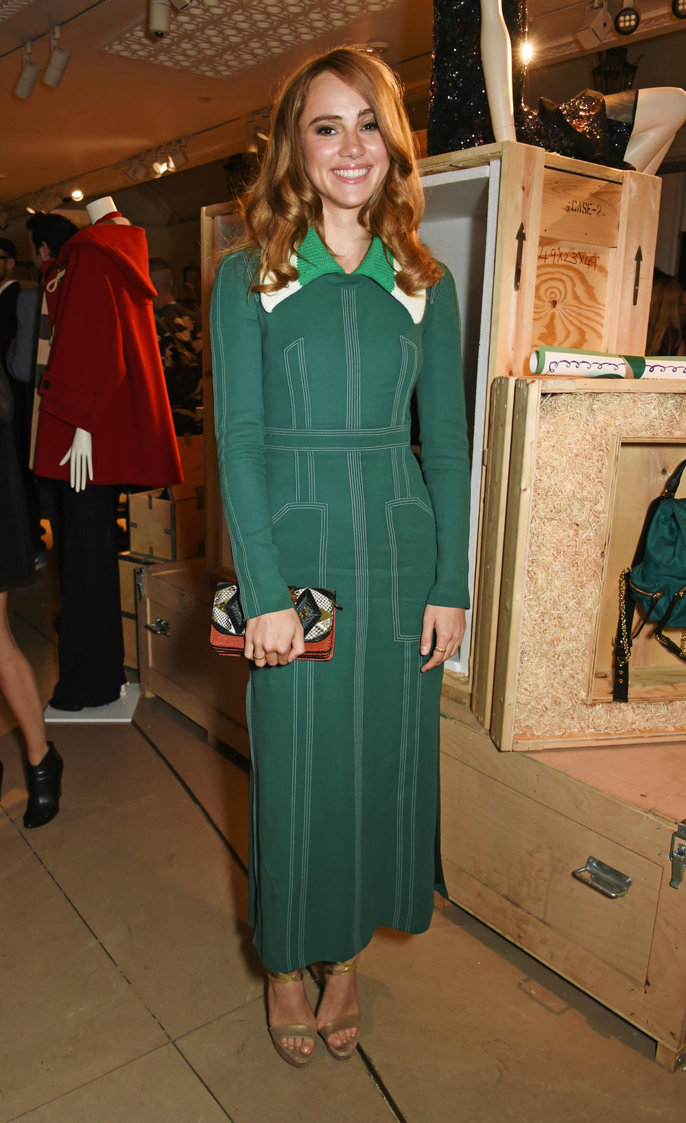 Suki Waterhouse en Burberry, Londres