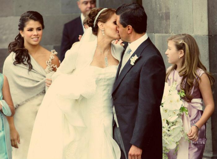 los vestidos de novia más hermosos de las famosas mexicanas | actitudfem