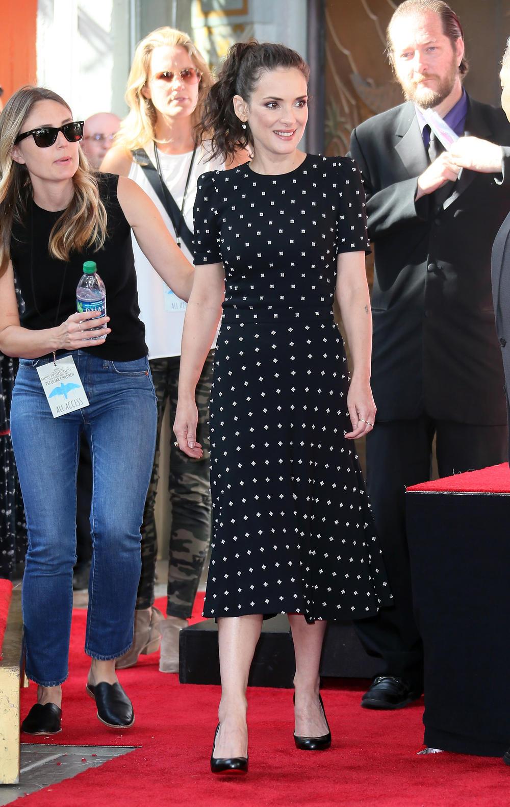 Winona Ryder en Givenchy, Los Angeles