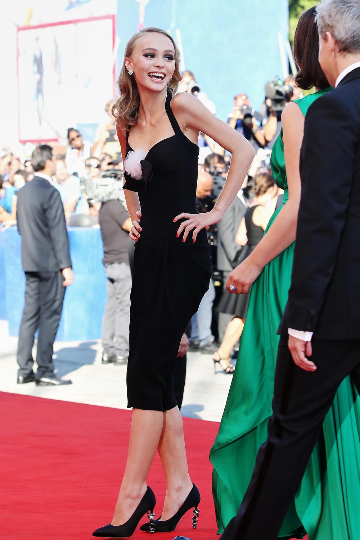 Lily-Rose Depp en Chanel, Venecia