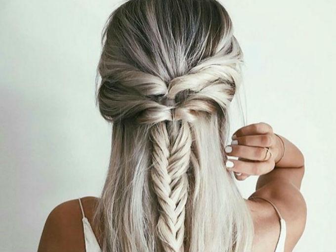 Peinados Faciles Para Cabello Largo Actitudfem
