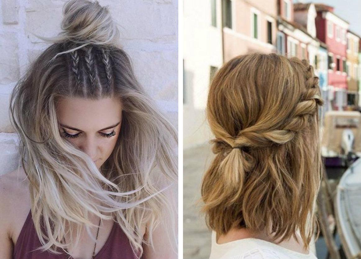 8 trenzas que puedes hacerte con el cabello corto actitudfem Pelo corto para ninas