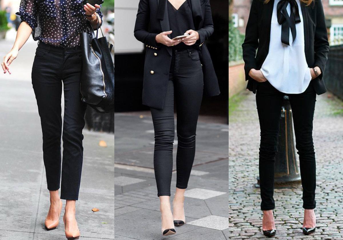 5 Formas De Llevar Tus Jeans Negros Para Conseguir Un Look
