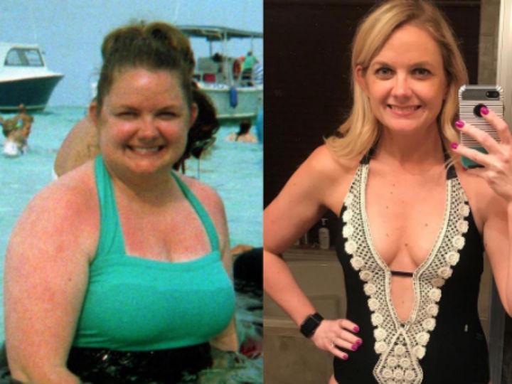mujeres antes y despues de bajar de peso