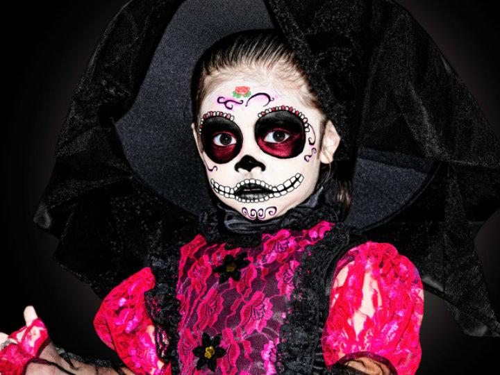 Maquillaje De Catrina Para Niñas Que Amarás Para Tus Hijas