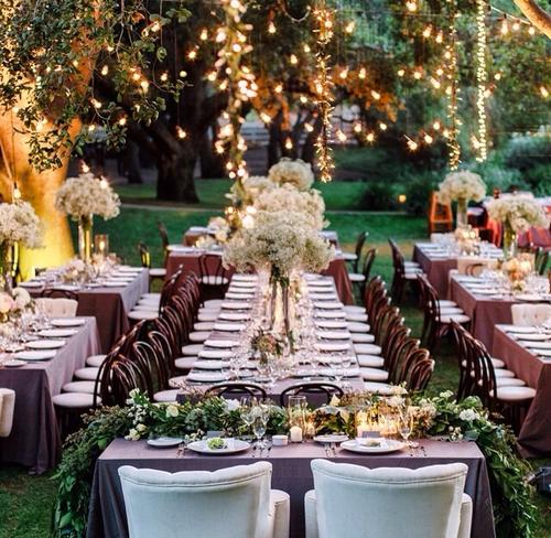 Consejos para organizar las mesas de tu boda actitudfem for Mesas de bodas