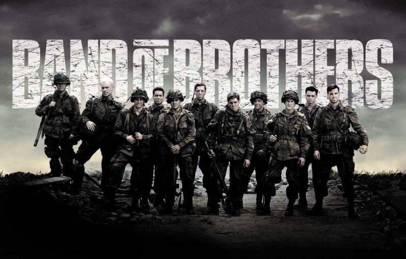 Poster de Band of Brothers serie de HBO