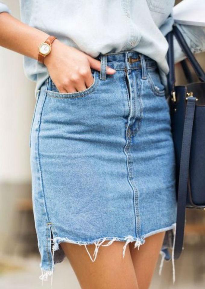 7 Faldas De Mezclilla Para Cuando Estés Cansada De Usar
