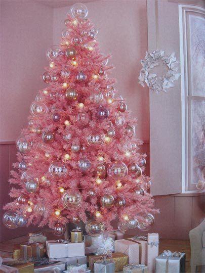 Rbol de navidad de unicornio adornos f ciles actitudfem - Arboles de navidad rosa ...