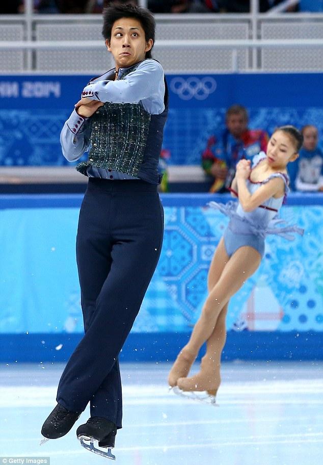 caras-chistosas-patinadores-artísticos-Juegos-Olímpicos-Invierno