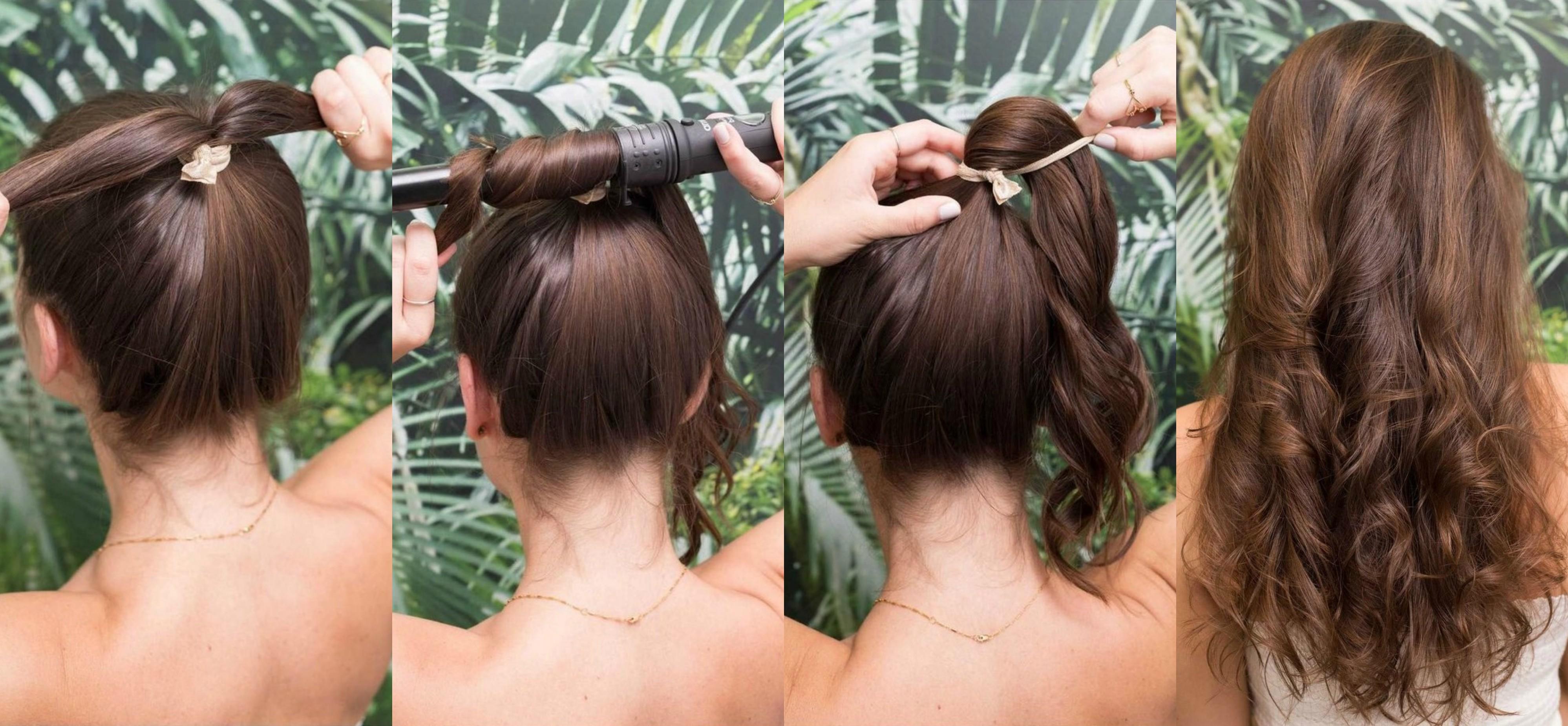 Más notable peinados con secadora Fotos de las tendencias de color de pelo - 5 peinados super sencillos por si tienes poco tiempo ...
