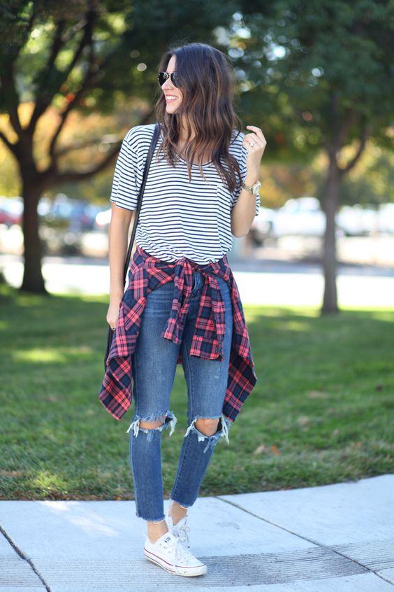 camisa-cuadros-cintura