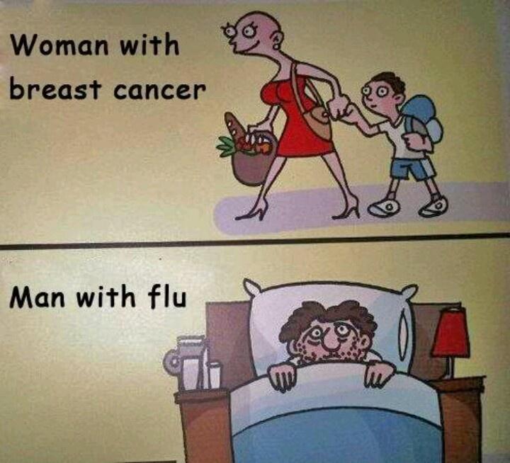 Hombres son más débiles que las mujeres ante la gripe