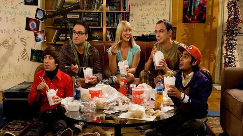 cast de the big bang theory en la primera temporada