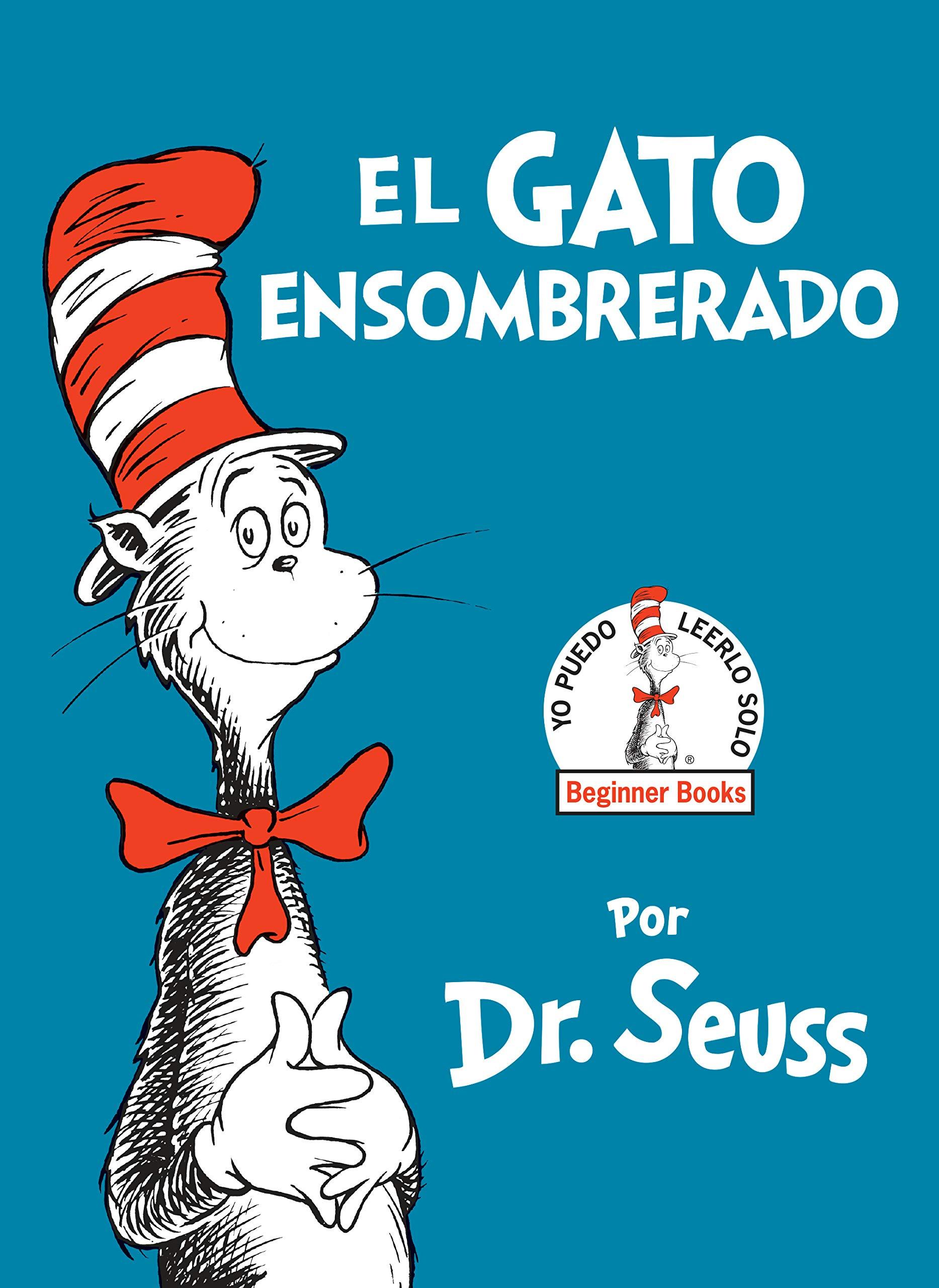 Portada de El gato ensombrerado, uno de los libros clásicos de Dr. Seuss