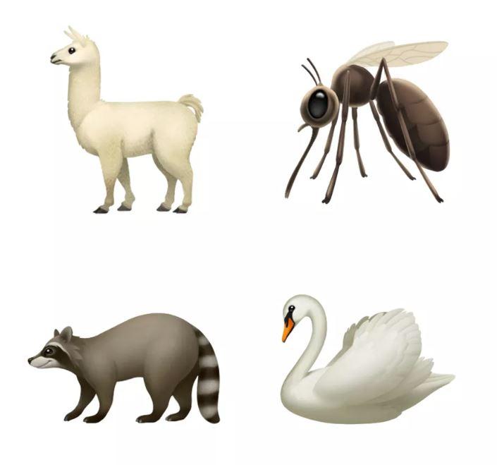 emojis-nuevos-apple-2018-animales-llama