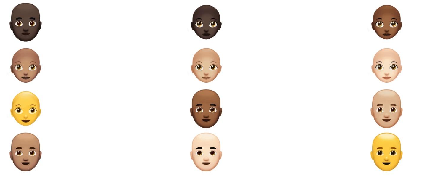 emojis-nuevos-apple-2018-pelones